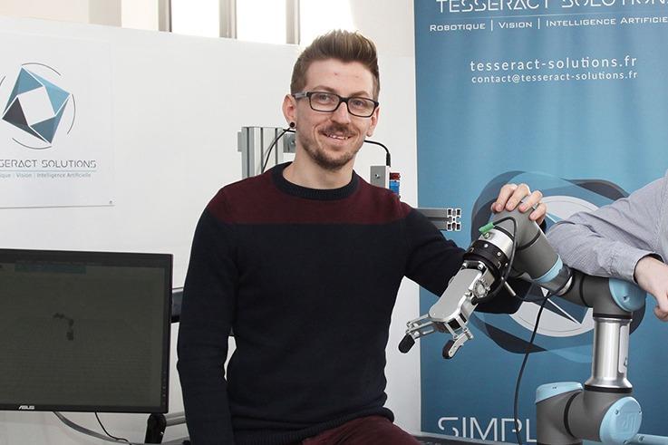 3 questions à Florian Dordain sur la robotique dans l'industrie